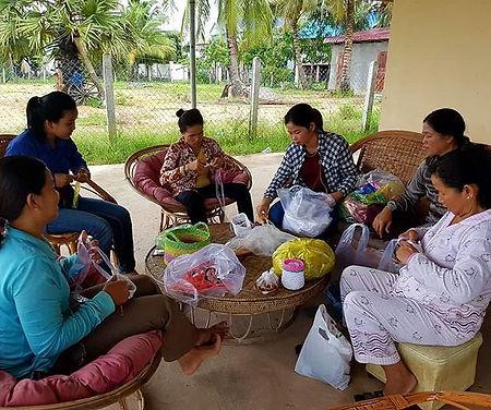 Empower women in Cambodia through plasti