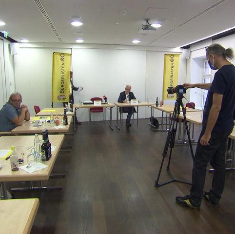 Die erste Pressekonferenz der Bürgerlisten OÖ