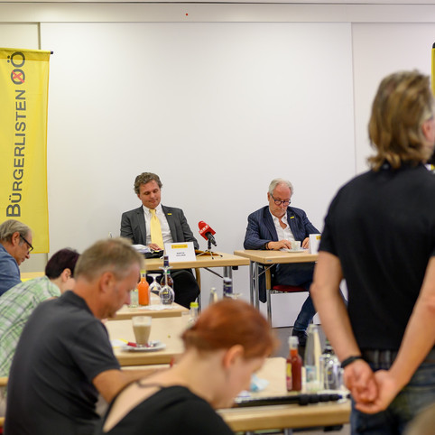 2. Parlamentarische Anfrage der Bürgerlisten Österreich