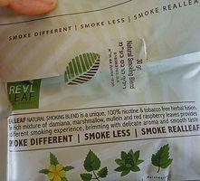 """תחליף הטבק הטבעי """"ריל-ליף״"""