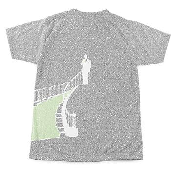 הדפסת קטעים מספר על חולצה