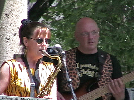 Performing with THE SWING CATS