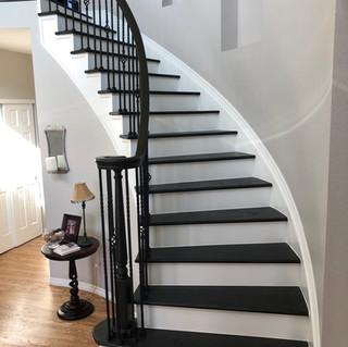Custom Entry Stairs