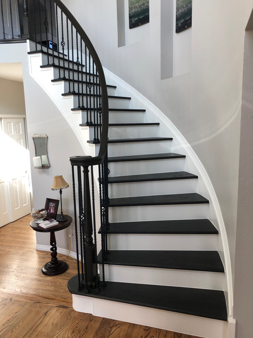 Custom Entry Stairs
