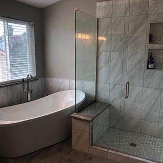 Custom Shower and Bath