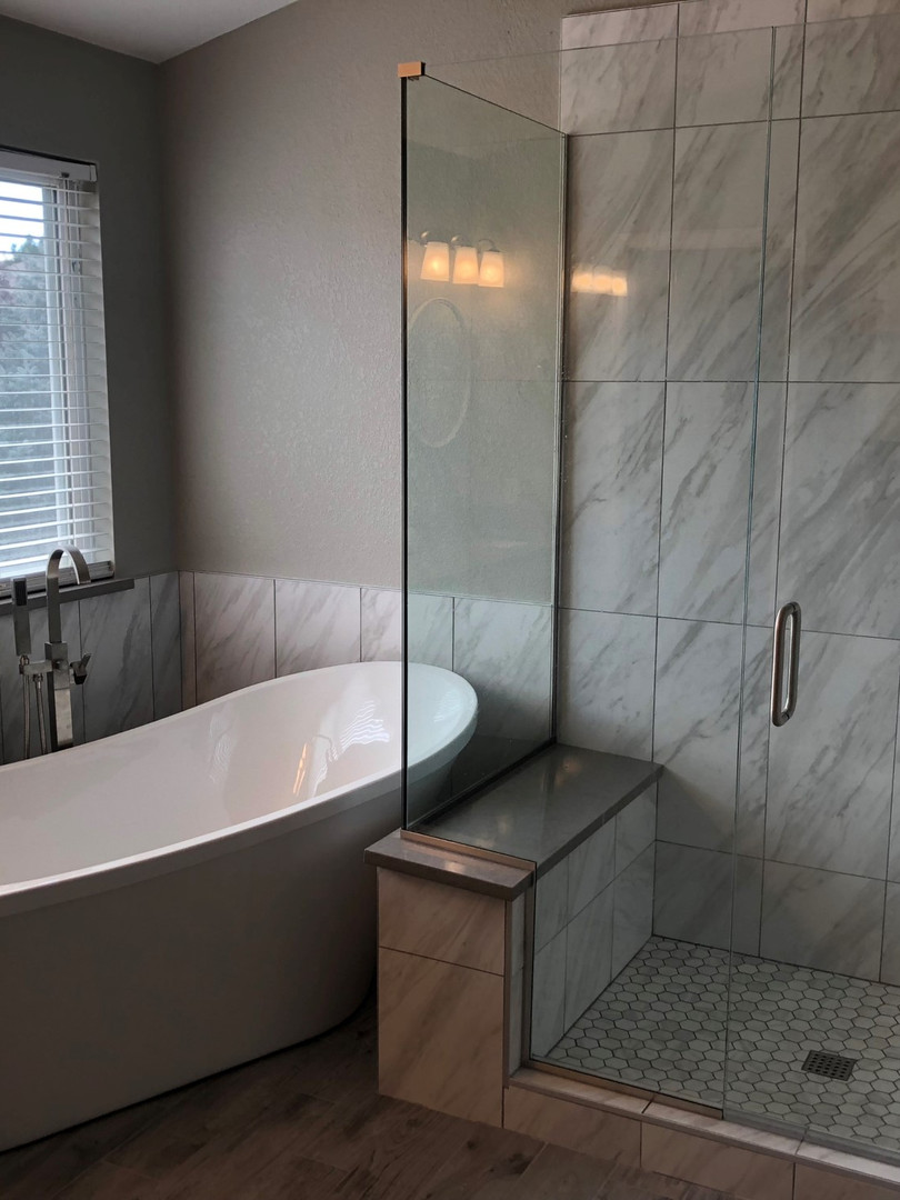 Custom Shower and Bath