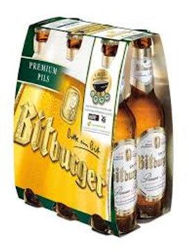 Bitburger Pilsner (6-pack)