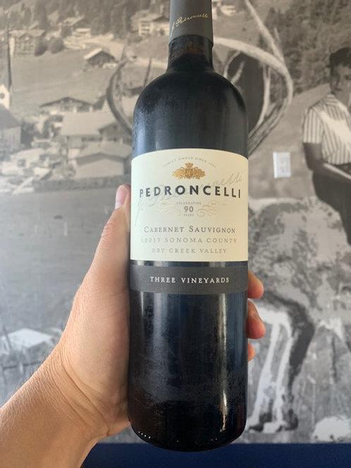 Pedroncelli Cabernet Sauvignon Bottle