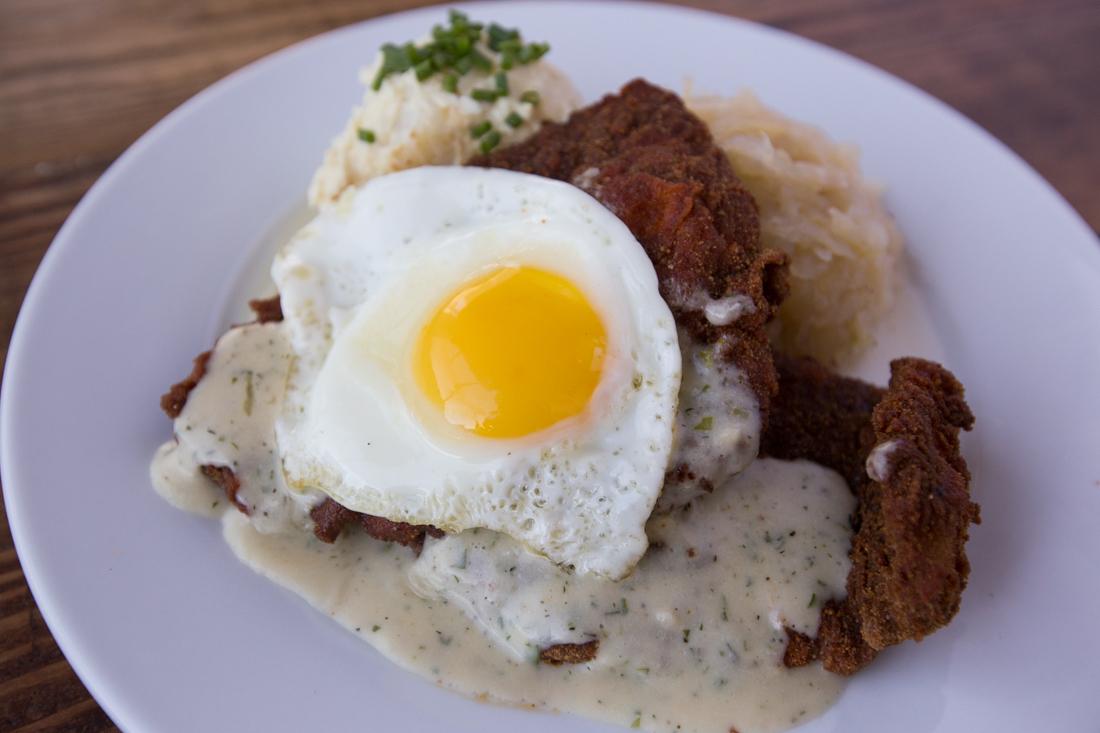 Rasselbock Schnitzel