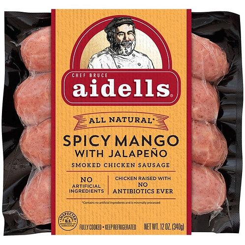 Spicy chicken sausage ( mango w/ jalapeño; pack of 2)
