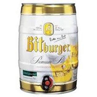Bitburger Pilsner Party Keg (5 liters)