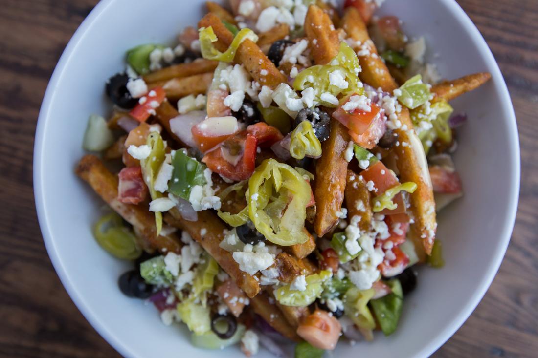 Dude's salad