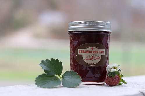 Strawberry Jam-8 oz