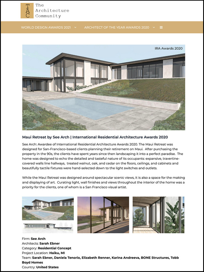 The Architecture Community