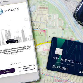 Intercash Supports Ride-Sharing App, Rydeum