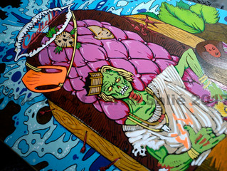 Surfing Death #3 A work in progress