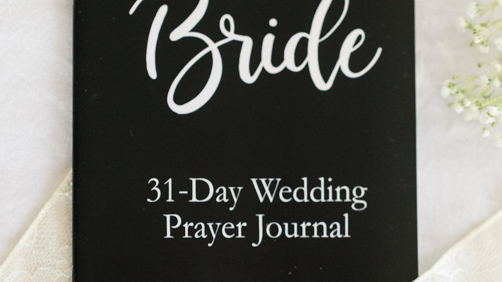 31 Day Wedding Prayer Journal