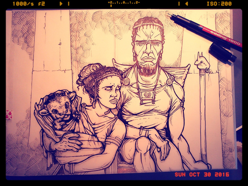 All-done inking Minos Family