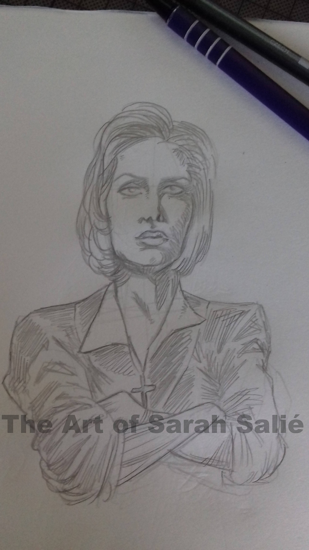 Scully pencils