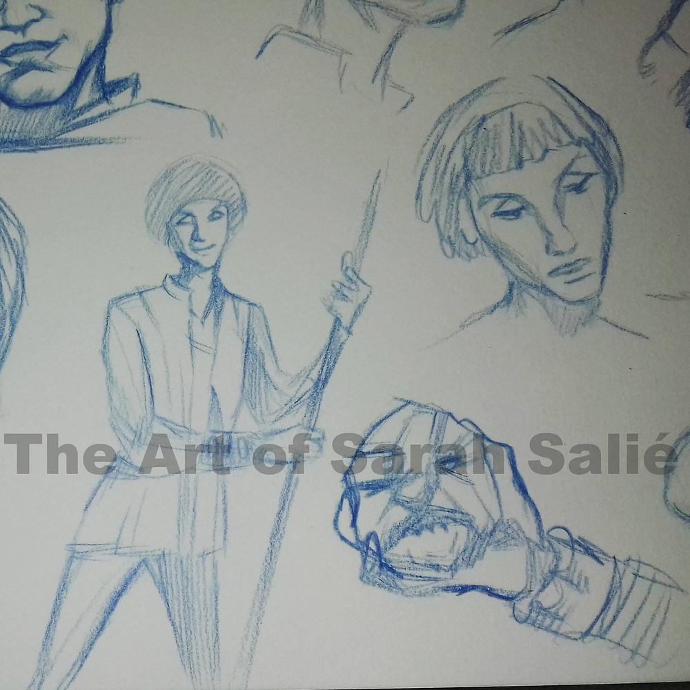 Princess Fantaghiro doodles