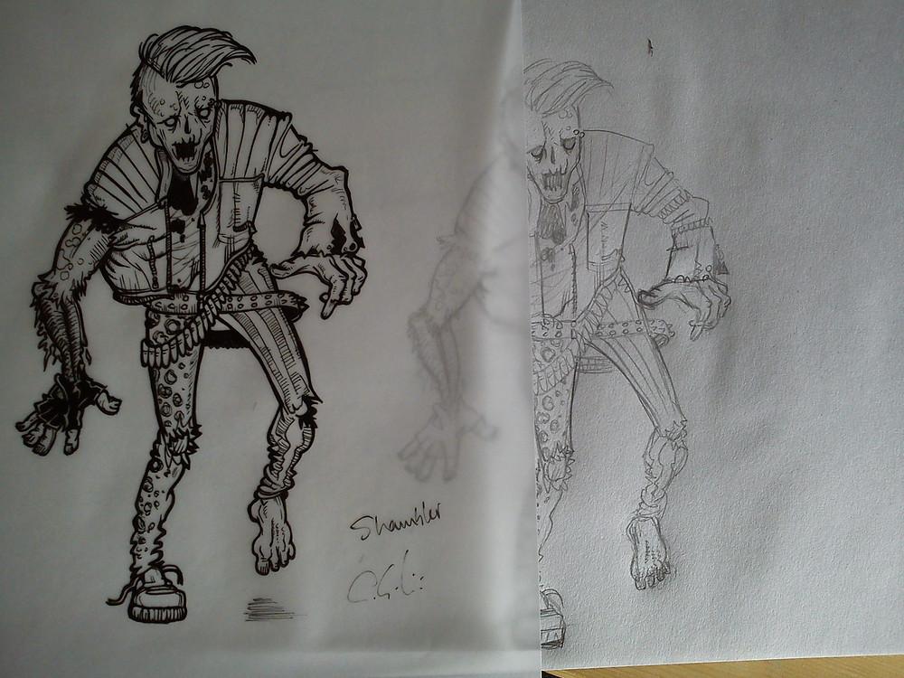 Inking the Shambler