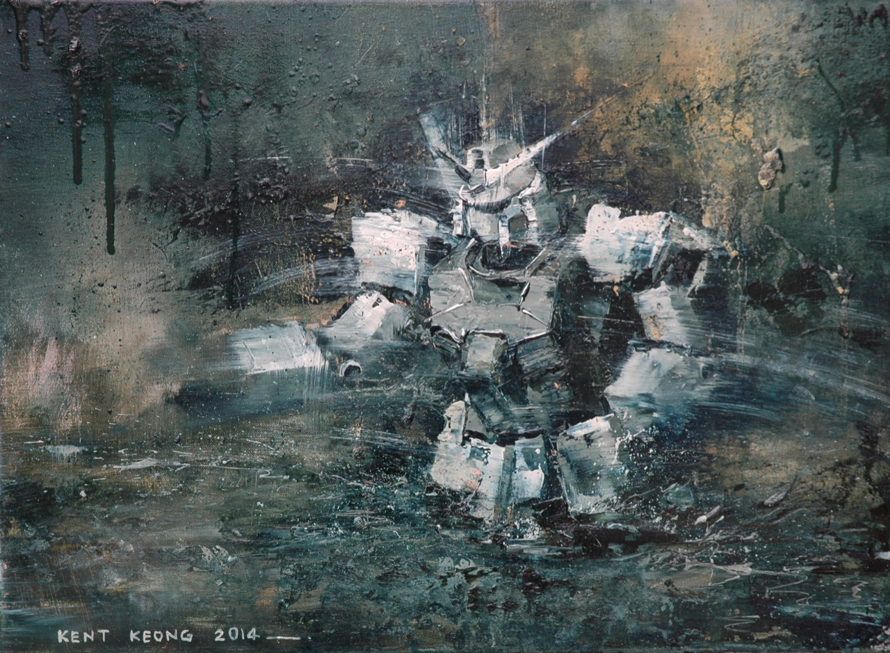 夜尋  42×57cm  2014 oil on canvas 拷貝