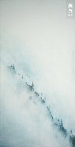 山影-2019 壓克力-麻布 24x47_小五