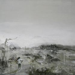 鄉 58×58cm  2015 oil on canvas 拷貝