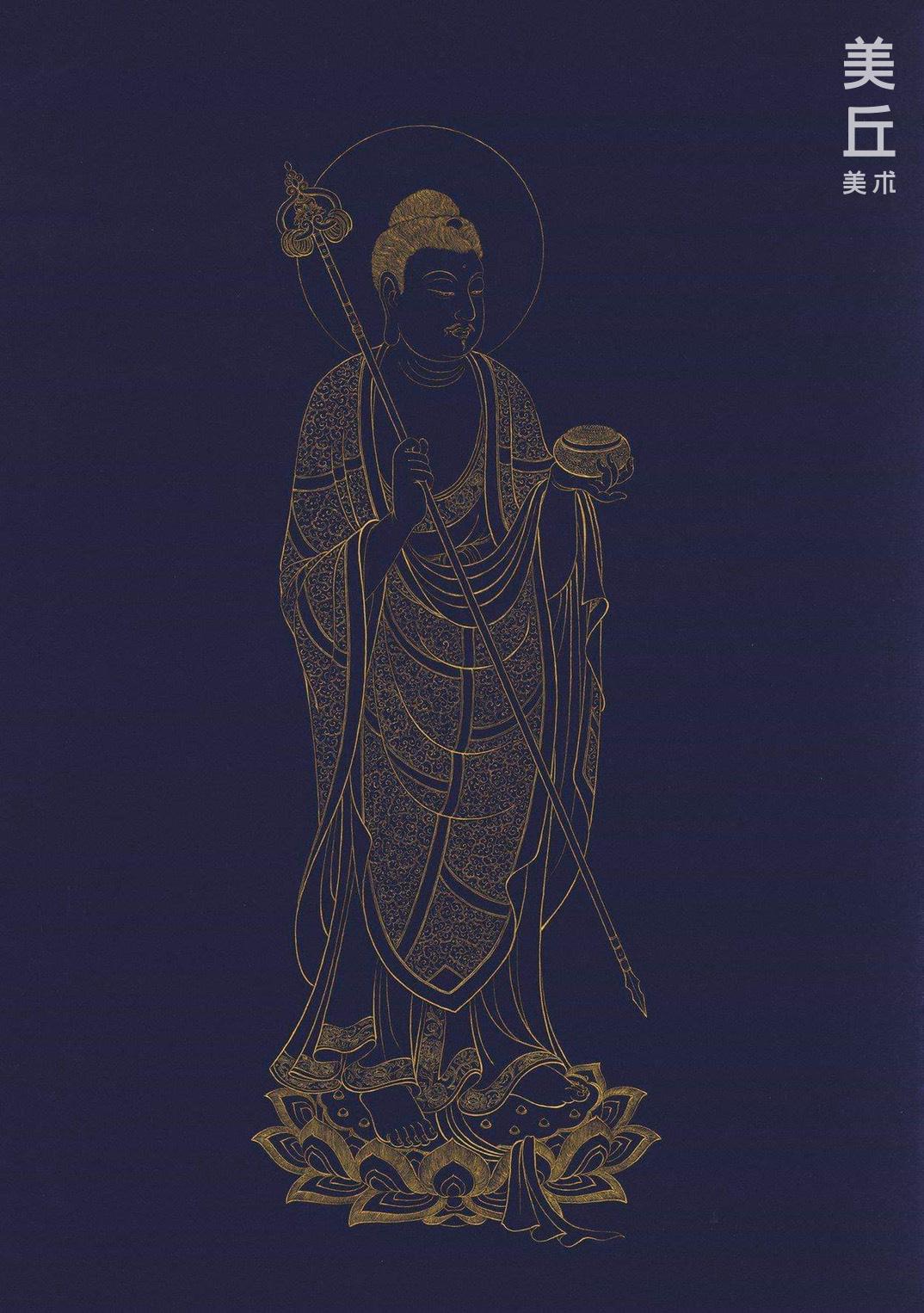 No.4 藥師琉璃光如來(供養紋,靈芝紋)_本傑