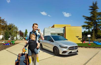 Valorisation digitale de l'arrivée en concessions Mercedes-Benz Étoile 69 de la Nouvelle Classe B.   Client : Mercedes-Benz Étoile 69