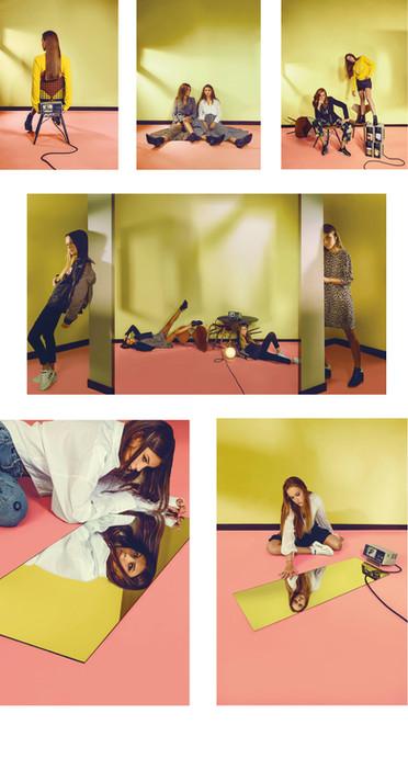 Stylisme en collaboration avec egolarevue & DMKF