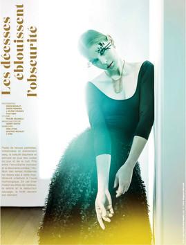 """Stylisme mode pour le magazine egolarevue en adéquation avec le thème du numéro présenté : """"la lumière""""  Client : egolarevue"""