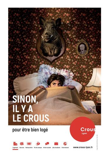 Image de marque : CROUS Lyon