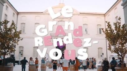 """Stratégie, création et mise en place du concept événementiel : """"Le Grand Rendez-Vous"""".  Client : Les Vins AOC Ventoux En collaboration avec l'agence Effervescence"""