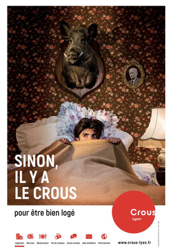 stylisme pour la campagne 2020 du Crous de Lyon  Client : Agence MMAP