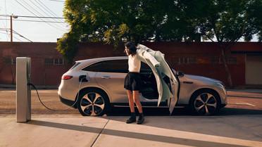 EQ Electric Tour : halte à Lyon pour Mercedes-Benz