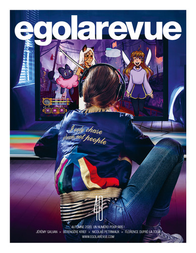 Stylisme mode pour le magazine egolarevue n°48  Client : egolarevue