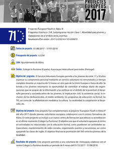 European Youth in Alzira III