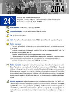 Alzira Youth Empowerment II