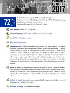 SVE Italy - Percorsi a sostegno del benessere educativo