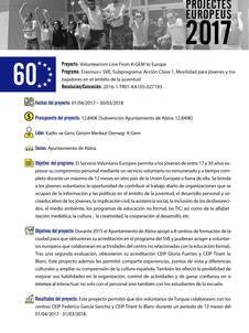 Volunteerism Line form K-Gem to Europe