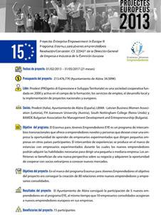 Enterprise Empowerment in Europe II