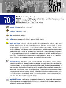 Youth Training Madeira VI