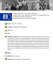 SVE Voluntarism Line From K-GEM to Europe - 3