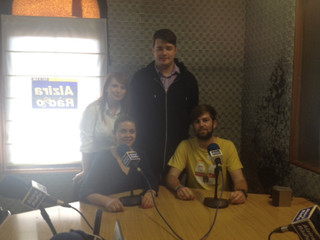 Alzira Ràdio and English coffee club