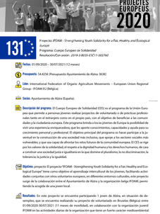 IFOAM - Strengthening Youth Solidarity for a Fair, Healthy and Ecological Europe