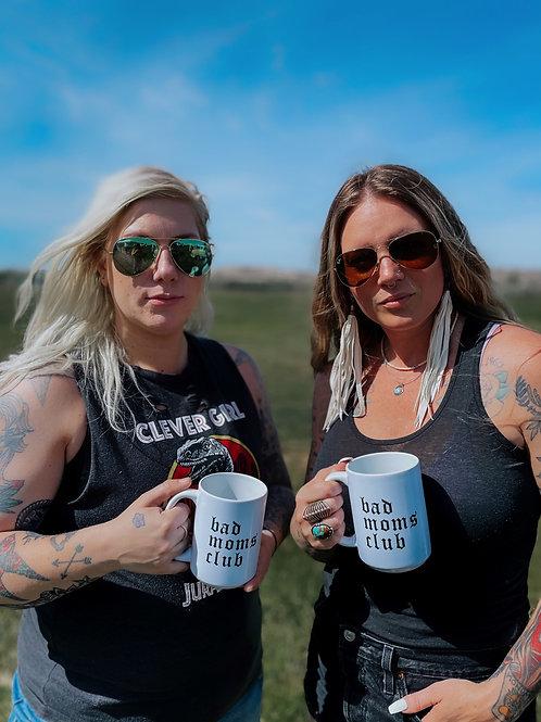 Bad moms club mug