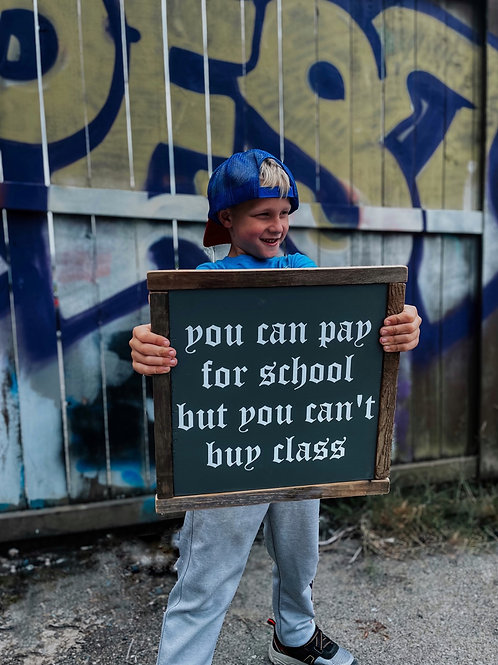 Can't buy class