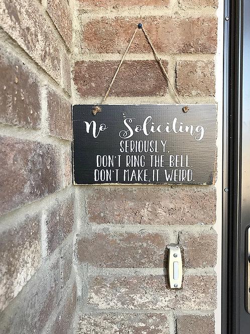 Front Door Signs