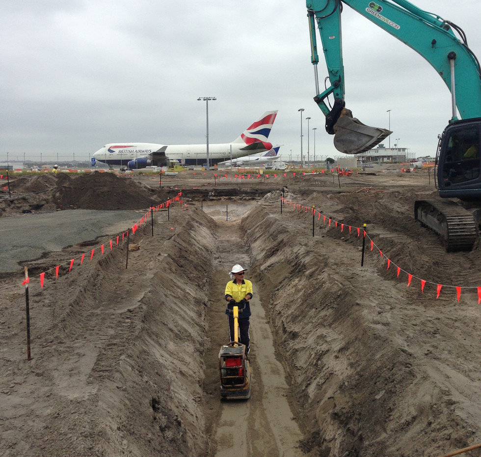 SYDNEY AIRPORT REHABILLITATION OF TAXIWAY